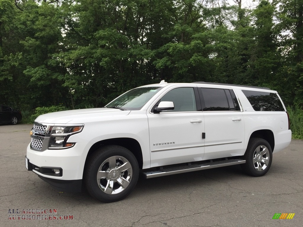 2017 chevrolet suburban lt 4wd in summit white 296387 all american automobiles buy. Black Bedroom Furniture Sets. Home Design Ideas