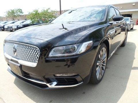 Diamond Black 2017 Lincoln Continental Reserve AWD