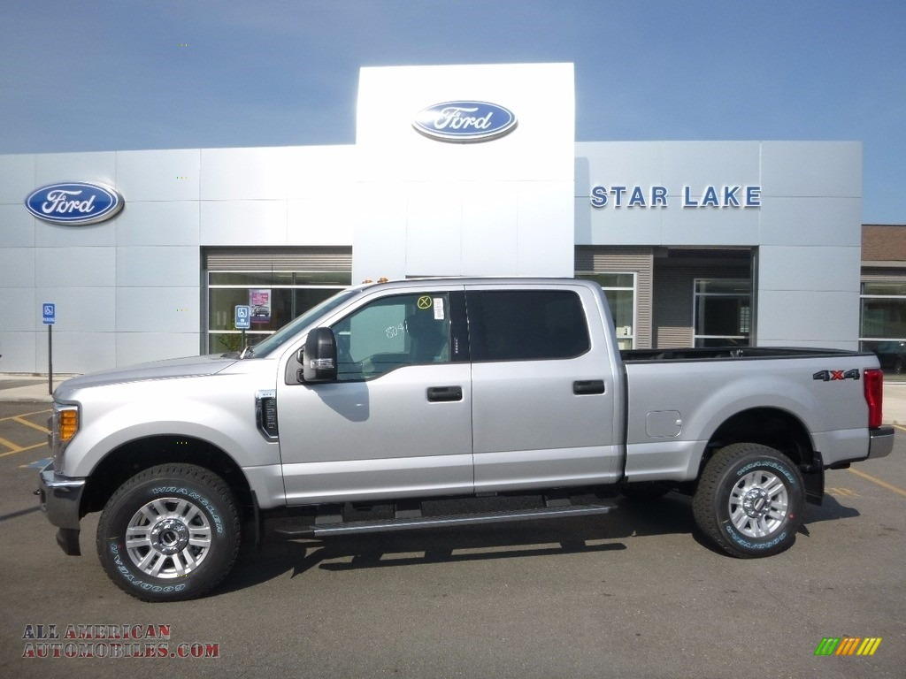 2017 ford f250 super duty xlt crew cab 4x4 in ingot silver d90944 all american automobiles. Black Bedroom Furniture Sets. Home Design Ideas