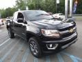Chevrolet Colorado Z71 Extended Cab 4x4 Black photo #8
