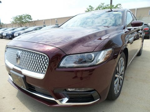 Burgundy Velvet 2017 Lincoln Continental Select AWD