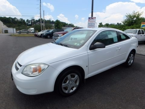 Summit White 2006 Chevrolet Cobalt LS Coupe