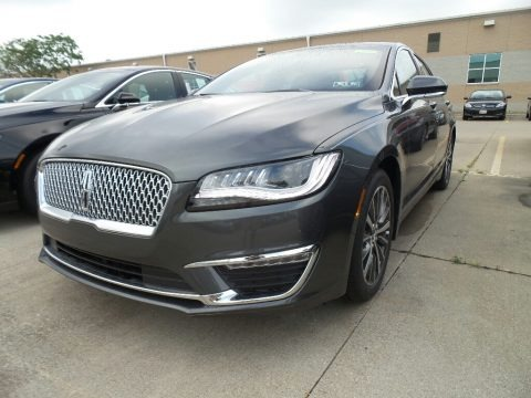 Magnetic Gray 2017 Lincoln MKZ Premier