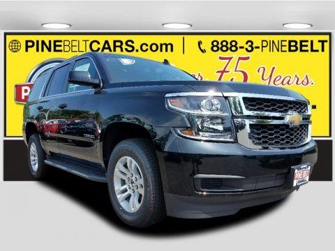 Black 2017 Chevrolet Tahoe LS 4WD