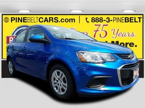 Kinetic Blue Metallic 2017 Chevrolet Sonic LS Sedan