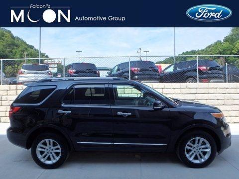 Tuxedo Black 2014 Ford Explorer XLT 4WD