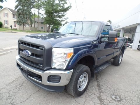 Blue Jeans Metallic 2014 Ford F250 Super Duty XL Regular Cab 4x4