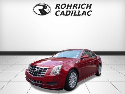 Crystal Red Tintcoat 2012 Cadillac CTS 4 3.0 AWD Sedan