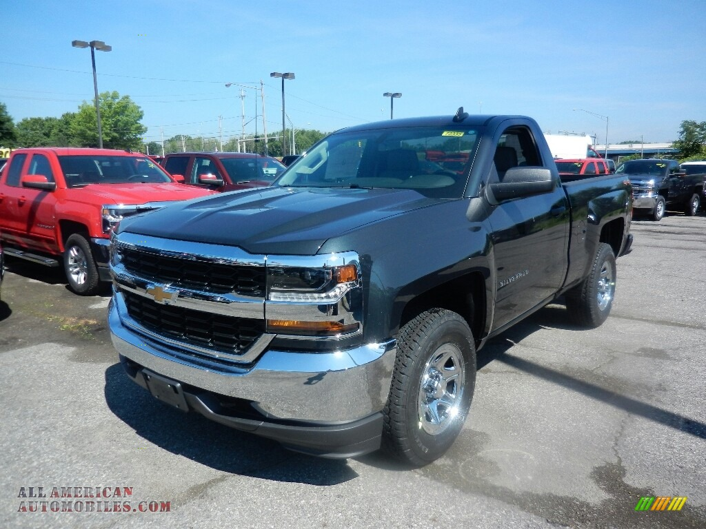 2017 chevrolet silverado 1500 wt regular cab 4x4 in graphite metallic 365335 all american. Black Bedroom Furniture Sets. Home Design Ideas