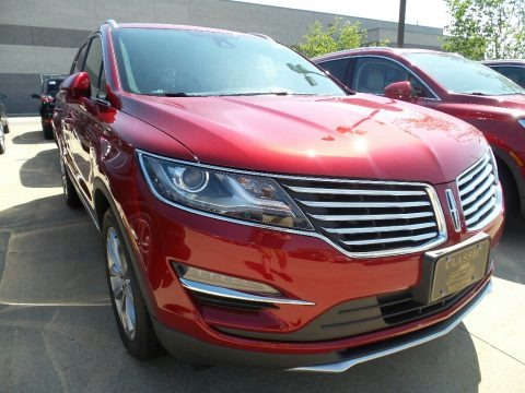 Ruby Red 2017 Lincoln MKC Select AWD