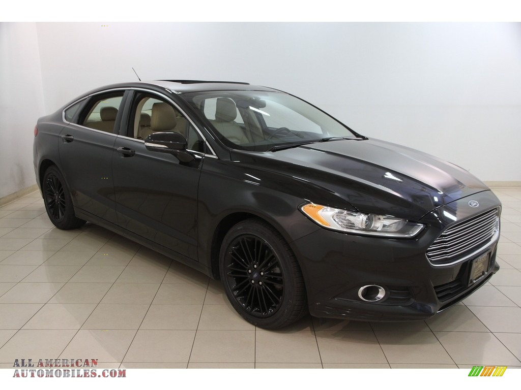 2014 ford fusion se ecoboost in tuxedo black 313540 all american automobiles buy american. Black Bedroom Furniture Sets. Home Design Ideas