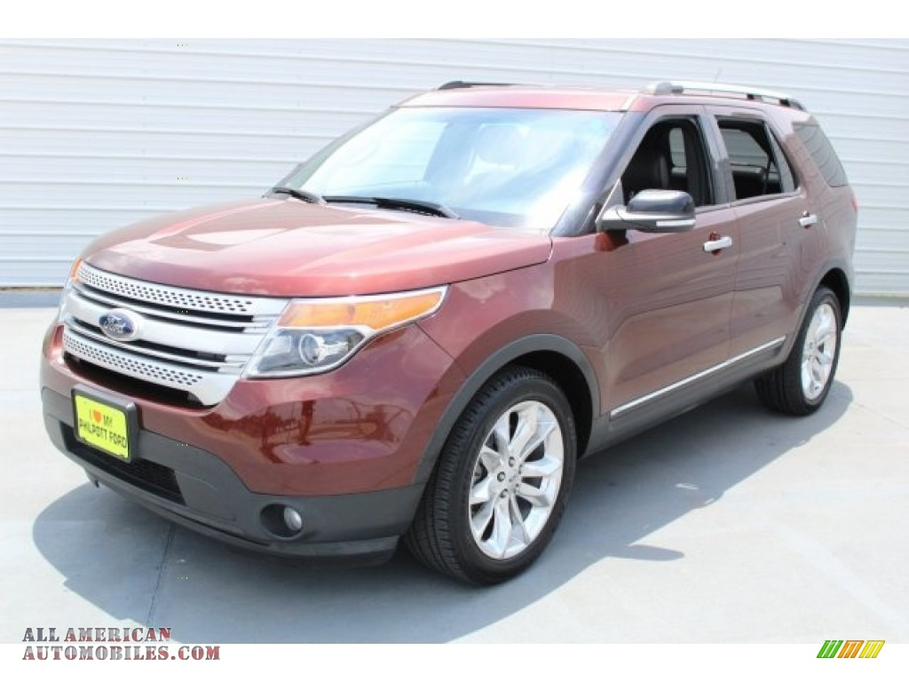 2015 ford explorer xlt in bronze fire photo 3 a54400 all american automobiles buy. Black Bedroom Furniture Sets. Home Design Ideas