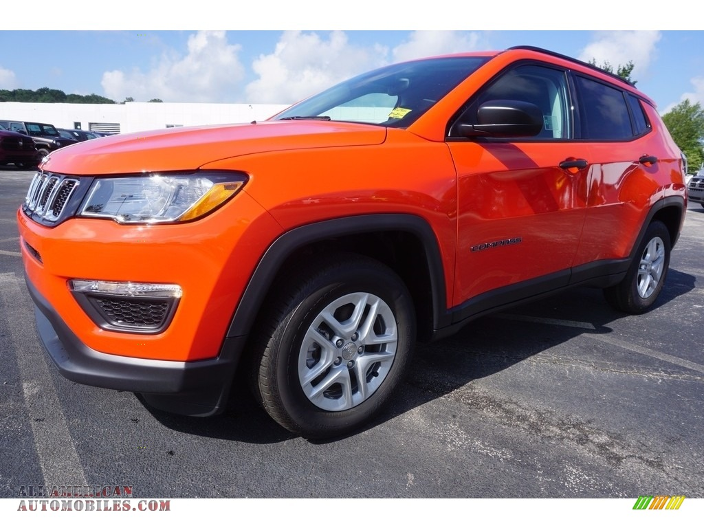 Ron Lewis Cranberry >> 2017 Jeep Compass Sport in Spitfire Orange - 659830 | All American Automobiles - Buy American ...