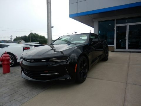 Black 2017 Chevrolet Camaro LT Coupe
