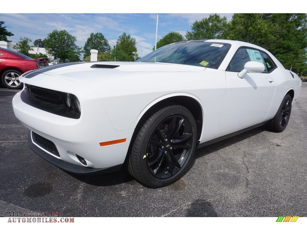 2017 dodge challenger sxt in white knuckle 613792 all american automobiles buy american. Black Bedroom Furniture Sets. Home Design Ideas