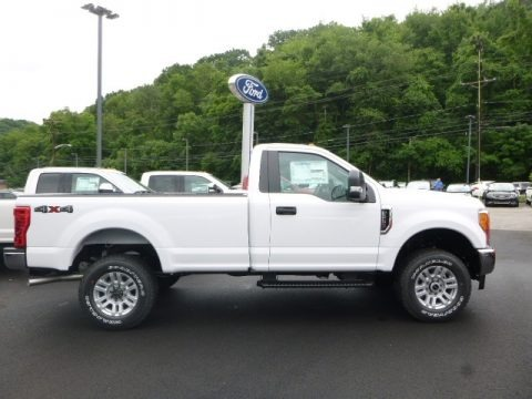 Oxford White 2017 Ford F250 Super Duty XLT Regular Cab 4x4