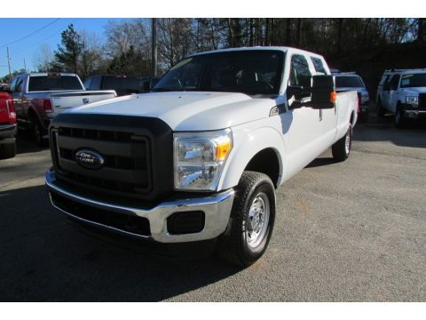 Oxford White 2013 Ford F250 Super Duty XL Crew Cab 4x4