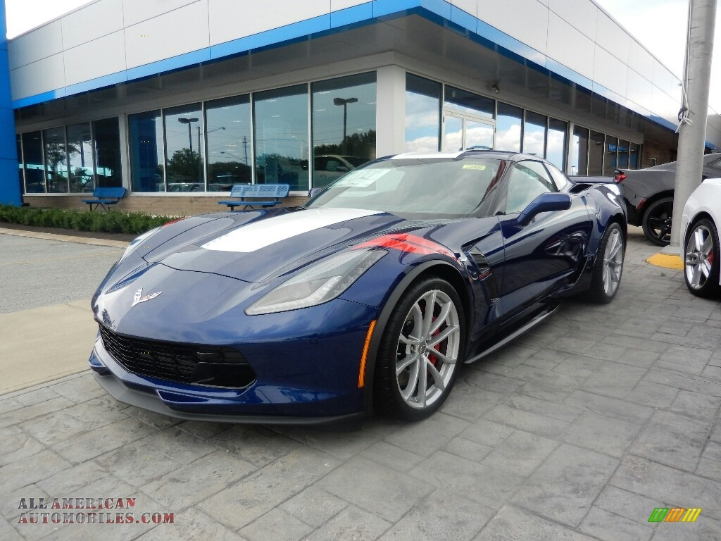 2017 Corvette Grand Sport Coupe - Admiral Blue / Jet Black photo #1