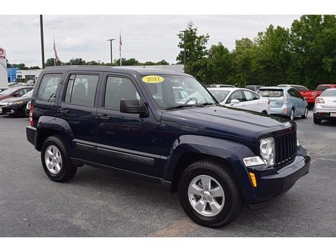 True Blue Pearl 2012 Jeep Liberty Sport