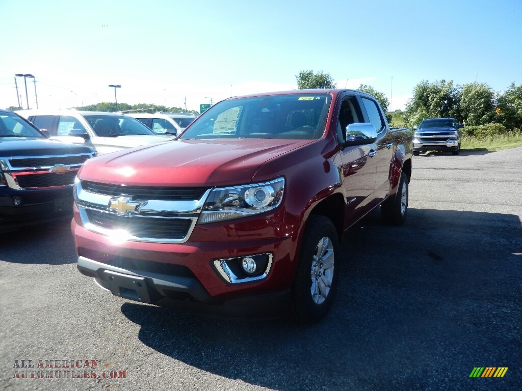 2017 chevrolet colorado lt crew cab 4x4 in cajun red tintcoat 269860 all american. Black Bedroom Furniture Sets. Home Design Ideas