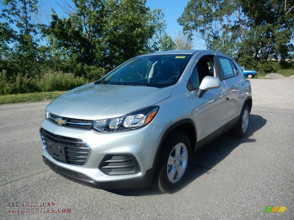 2017 chevrolet trax ls awd in silver ice metallic 174822 all american automobiles buy. Black Bedroom Furniture Sets. Home Design Ideas