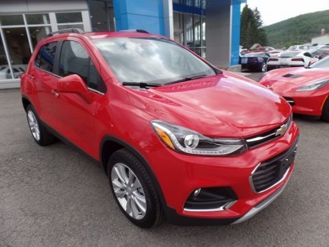 Red Hot 2017 Chevrolet Trax Premier AWD