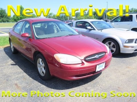 Toreador Red Metallic 2001 Ford Taurus SE