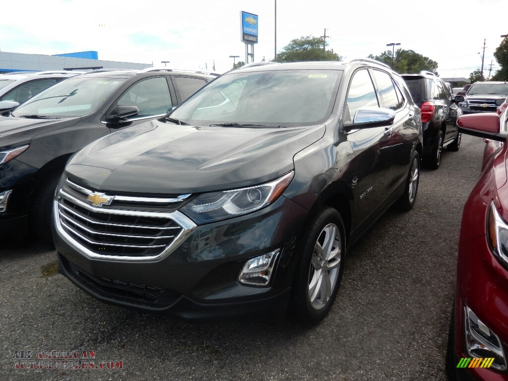 2018 chevrolet equinox premier in nightfall gray metallic 101493 all american automobiles. Black Bedroom Furniture Sets. Home Design Ideas