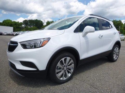 Summit White 2017 Buick Encore Preferred AWD