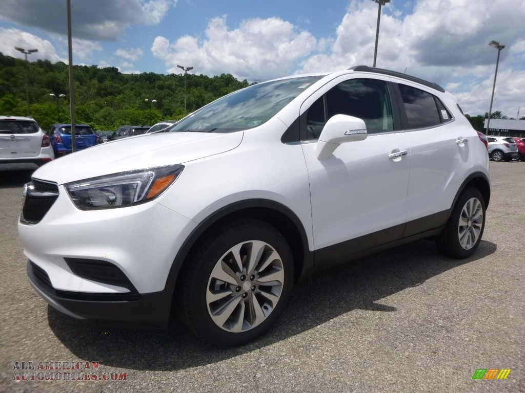 Summit White / Ebony Buick Encore Preferred