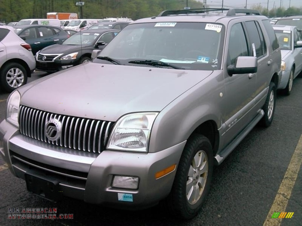 2008 Mountaineer AWD - Silver Birch Metallic / Charcoal Black photo #1