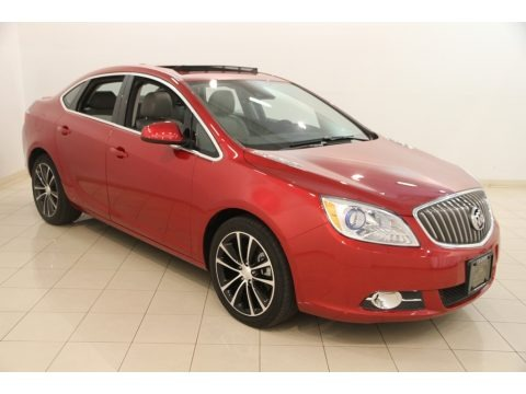 Crystal Red Tintcoat 2017 Buick Verano Sport Touring