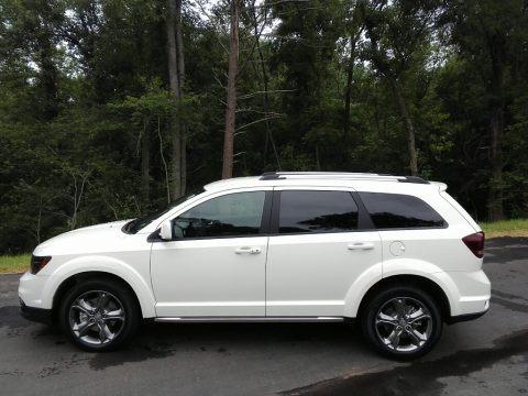 Vice White 2017 Dodge Journey Crossroad Plus