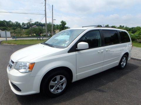 Stone White 2012 Dodge Grand Caravan SXT