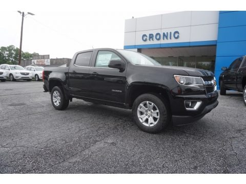 2017 chevrolet colorado zr2 crew cab 4x4 in black for sale 272285 all american automobiles. Black Bedroom Furniture Sets. Home Design Ideas