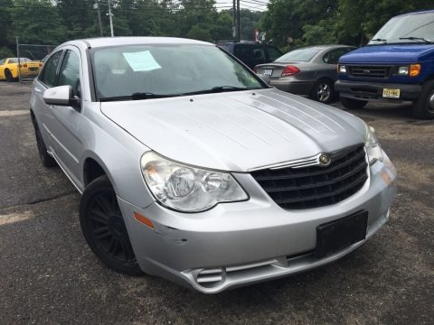 Bright Silver Metallic 2007 Chrysler Sebring Touring Sedan