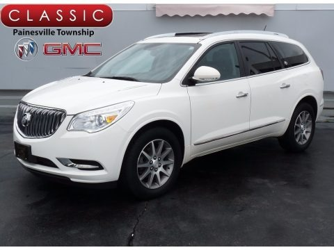 White Opal 2014 Buick Enclave Leather AWD