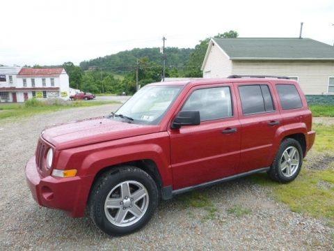 Red Crystal Pearl 2008 Jeep Patriot Sport 4x4