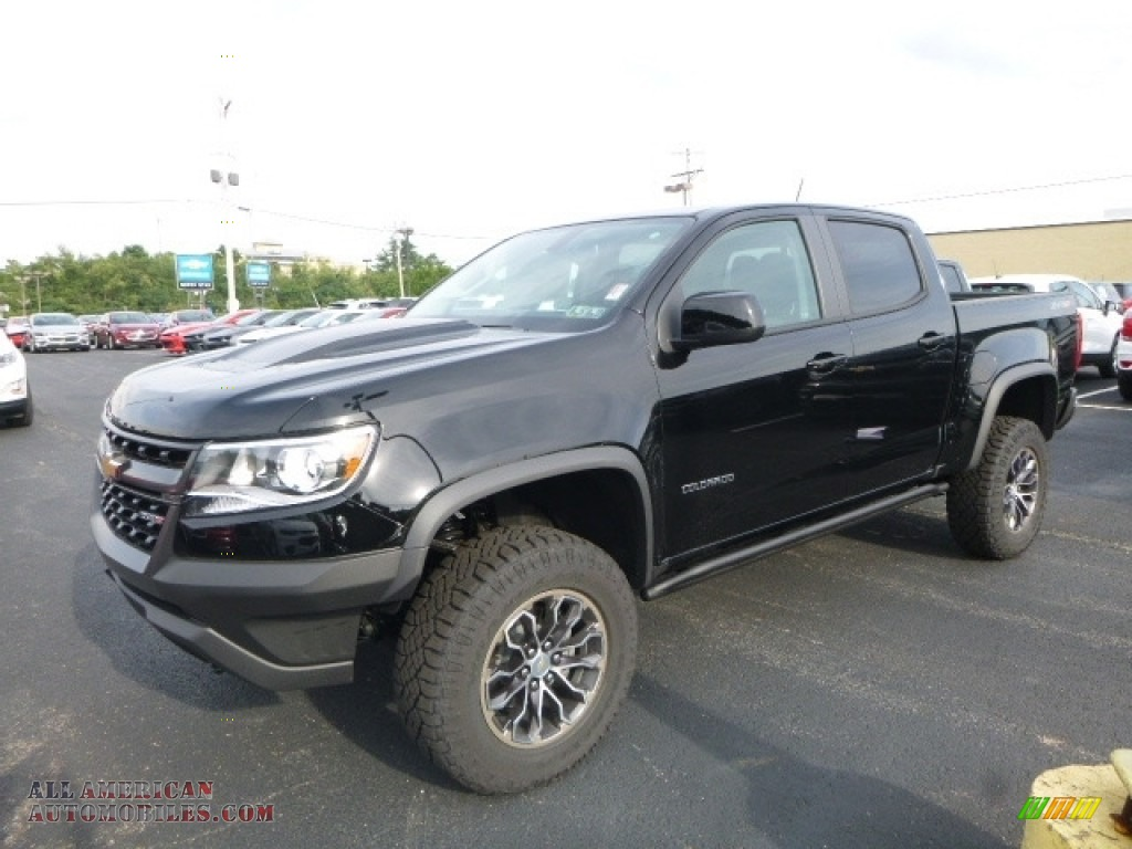 2017 chevrolet colorado zr2 crew cab 4x4 in black 272285 all american automobiles buy. Black Bedroom Furniture Sets. Home Design Ideas