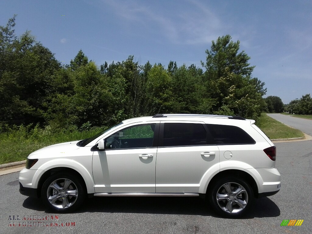 Ron Lewis Cranberry >> 2017 Dodge Journey Crossroad in Vice White - 673601 | All American Automobiles - Buy American ...