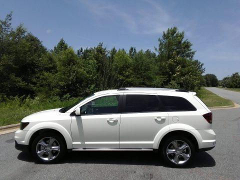 Vice White 2017 Dodge Journey Crossroad
