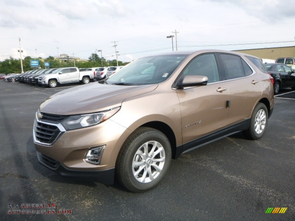 2018 Chevrolet Equinox Lt Awd In Sandy Ridge Metallic