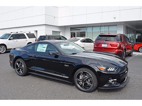 Shadow Black 2017 Ford Mustang GT California Speical Coupe