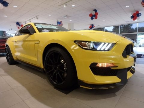 Triple Yellow 2017 Ford Mustang Shelby GT350 Coupe