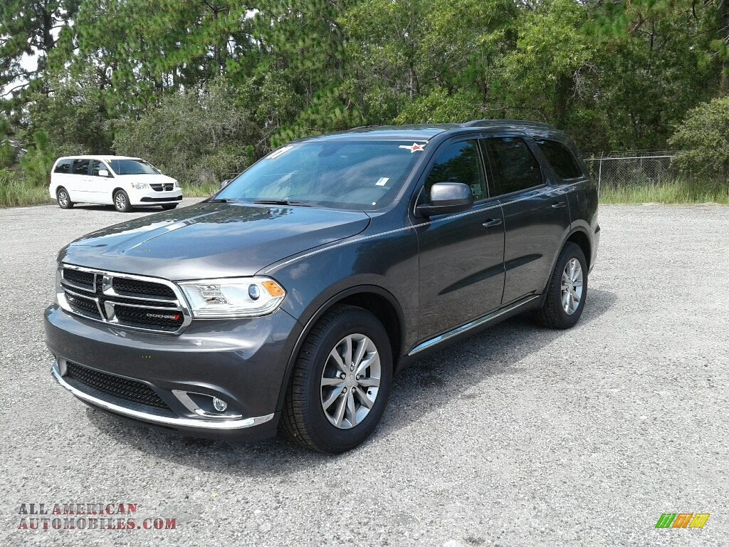 2017 dodge durango sxt in granite metallic 724800 all american automobiles buy american. Black Bedroom Furniture Sets. Home Design Ideas