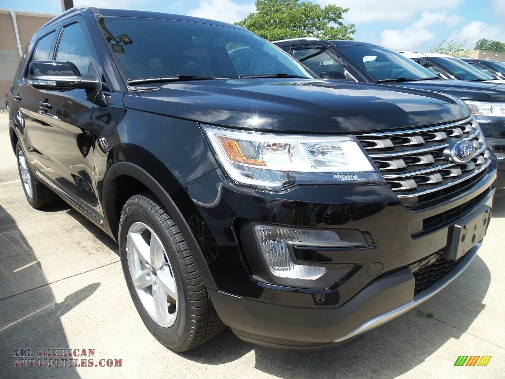 2017 ford explorer xlt 4wd in shadow black d20290 all american automobiles buy american. Black Bedroom Furniture Sets. Home Design Ideas