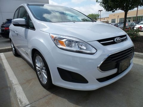 Oxford White 2017 Ford C-Max Energi SE