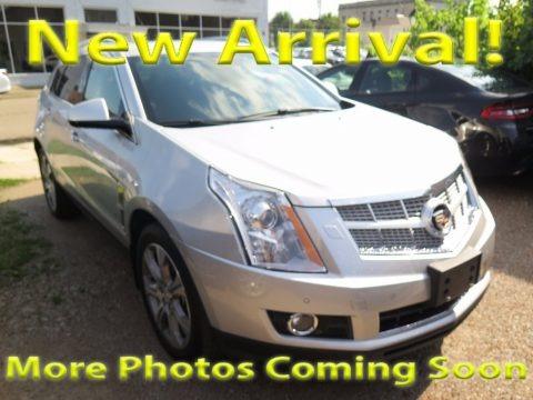 Radiant Silver Metallic 2012 Cadillac SRX Premium AWD