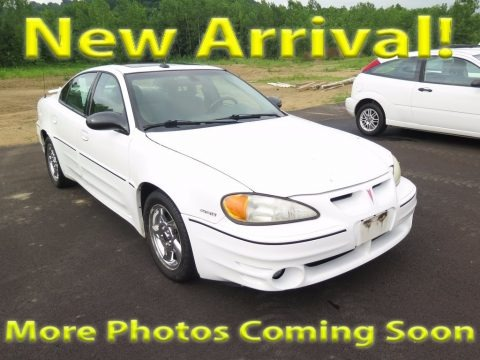 Summit White 2003 Pontiac Grand Am GT Sedan