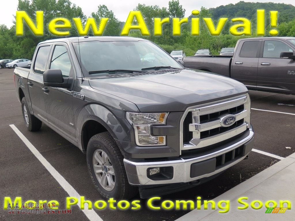 2017 ford f150 xlt supercrew 4x4 in lithium gray a12566 all american automobiles buy. Black Bedroom Furniture Sets. Home Design Ideas